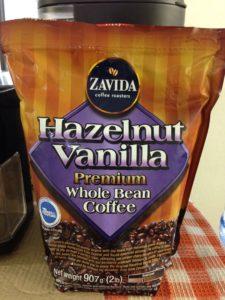 バニラ風味のコーヒー豆