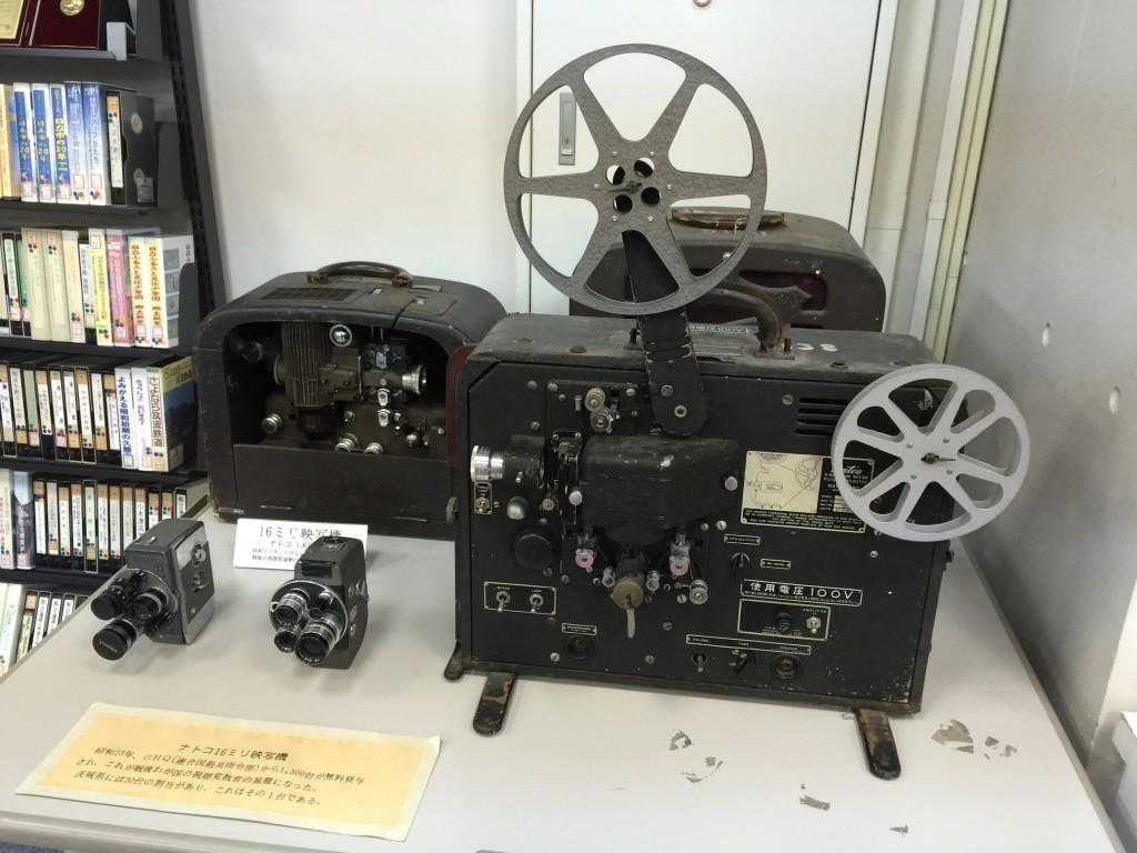 ナトコ16mm映写機