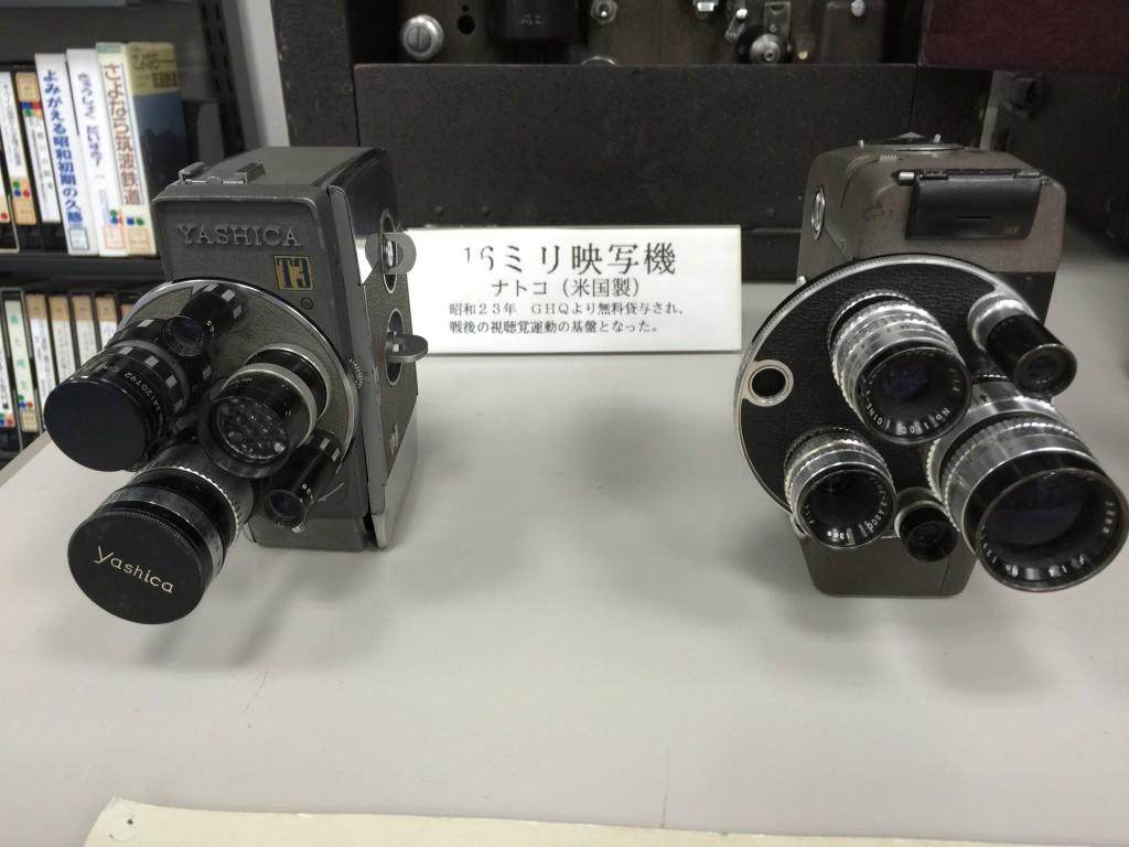 16mmカメラたち