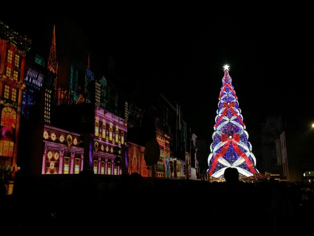 ユニバのクリスマスツリー