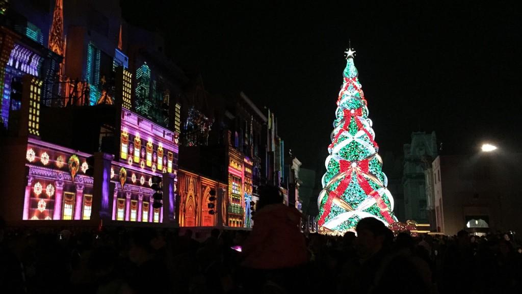 ユニバのクリスマスツリー その1