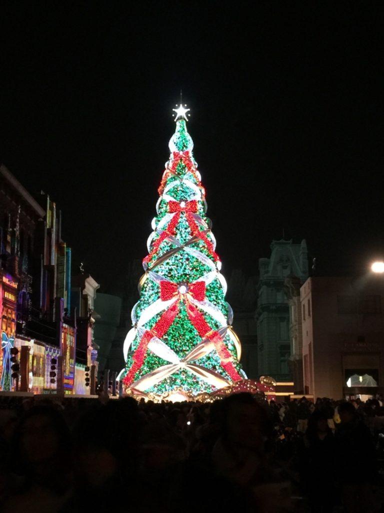 ユニバのクリスマスツリー その2