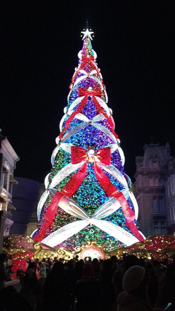 ユニバのクリスマスツリー その5