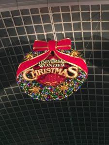 ユニバのクリスマスリース
