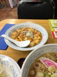 満州の麻婆豆腐