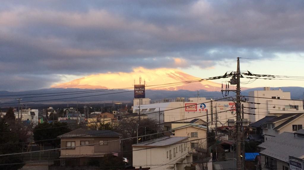 雲隠れ富士