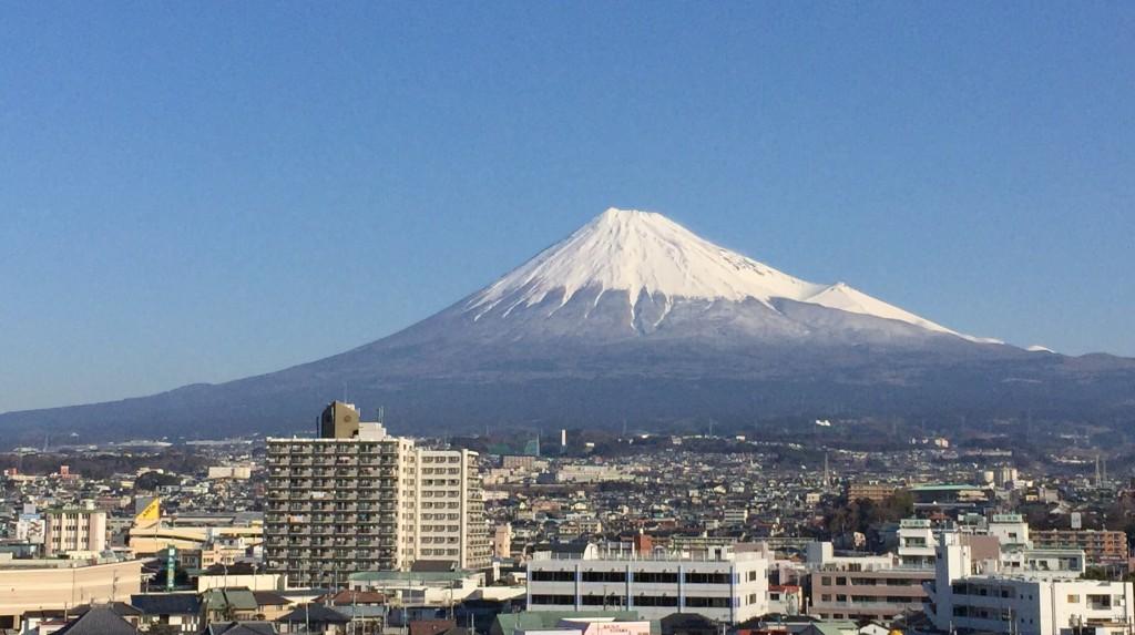 富士市で見る富士山 その1