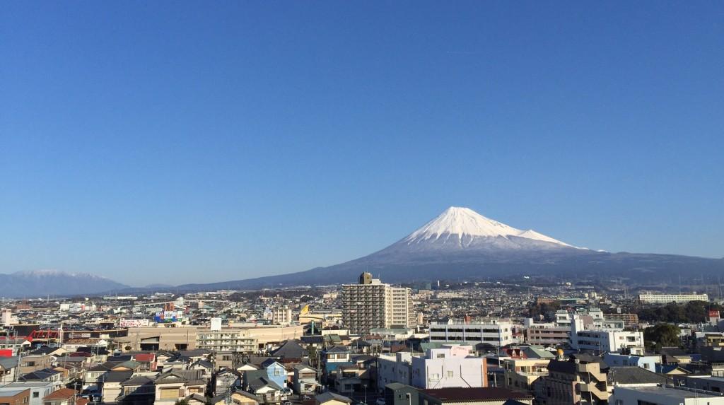 富士市で見る富士山 その2