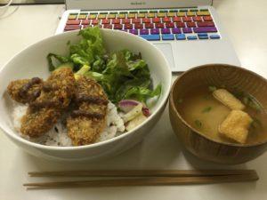 くるま麩のカツ丼