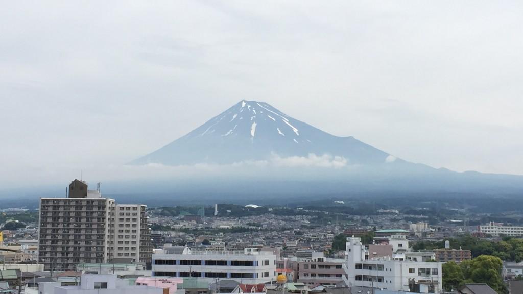 ラ・ホール富士から見た富士山