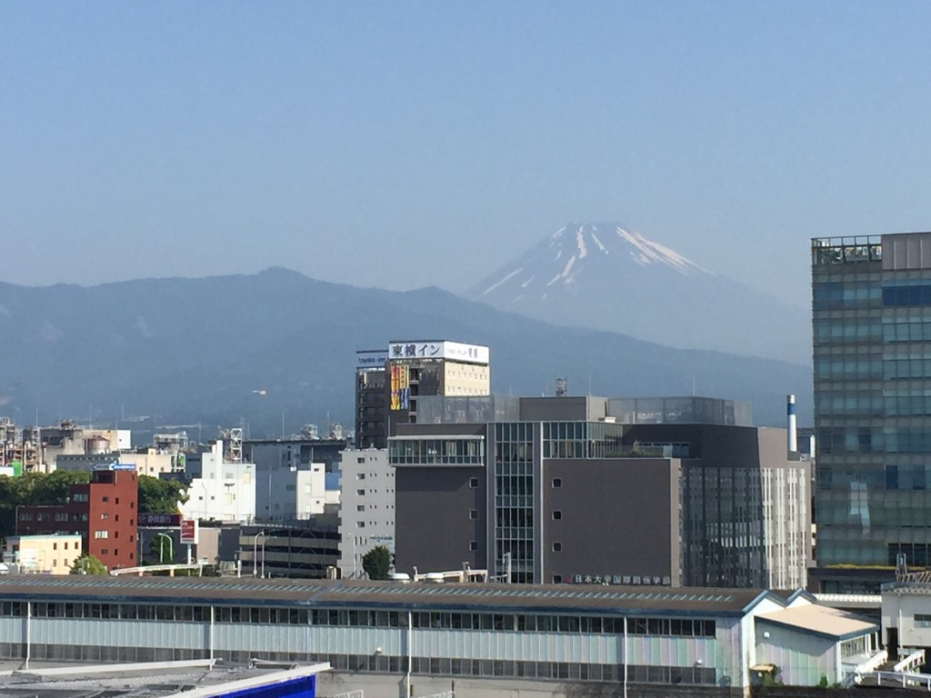三島市で見た富士山