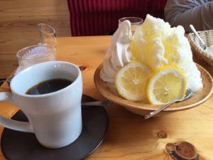 コメダのはちみつレモン&練乳・ソフト