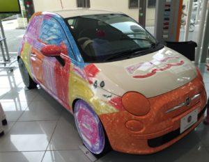 Fiat500(ぬり絵バージョン)