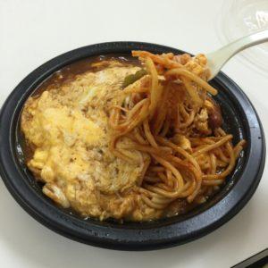 ゴールデンケチャップのチーズナポリタン