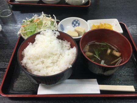 飛騨牛焼肉定食の定食分