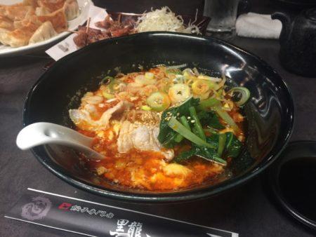 玉子とじ麻婆麺