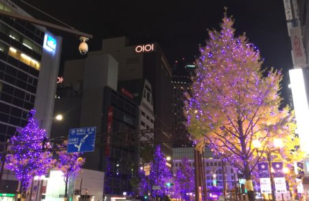 ミナミのクリスマスイルミネーション