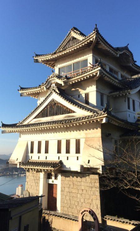 尾道城は健在でした