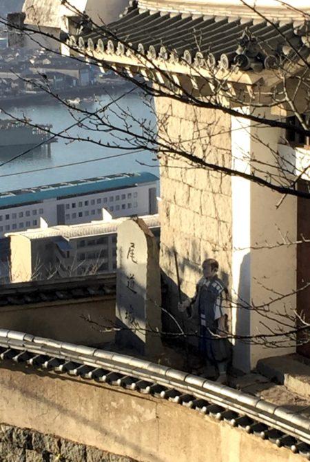 尾道城の門番