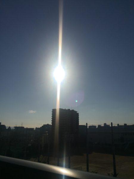 今朝の太陽を色々とアレンジしてみました