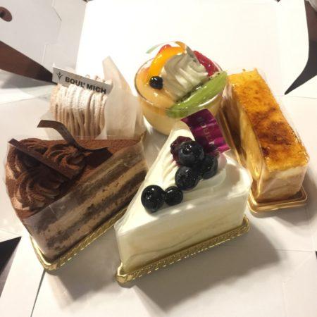 BOUL'MICHのケーキをお土産に