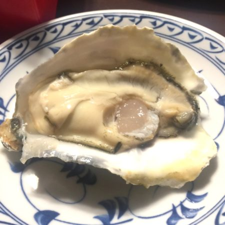 ぷりぷりの生牡蠣