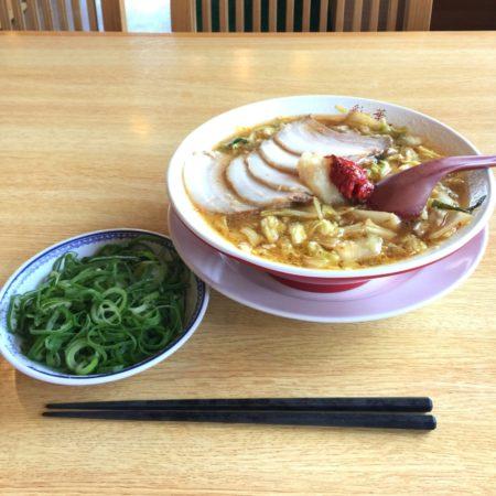 サイカラーメン(バラ肉チャーシュー入り)