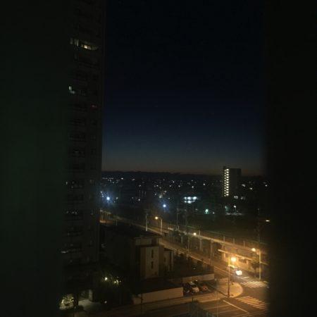 浜松の夜明け