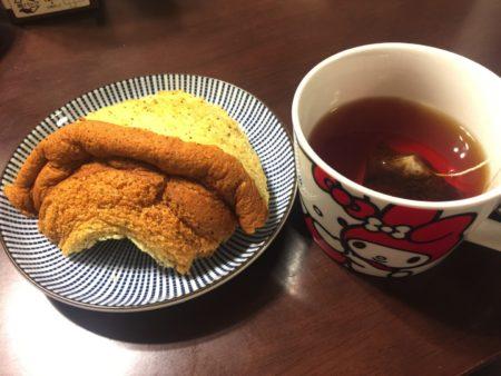 キームンと紅茶シフォン