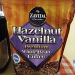 ZAVIDA ヘーゼルナッツ バニラホールビーン コーヒー
