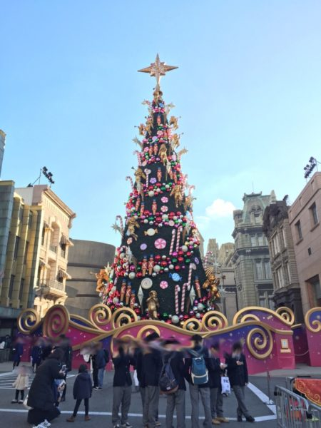 USJの新クリスマスツリー